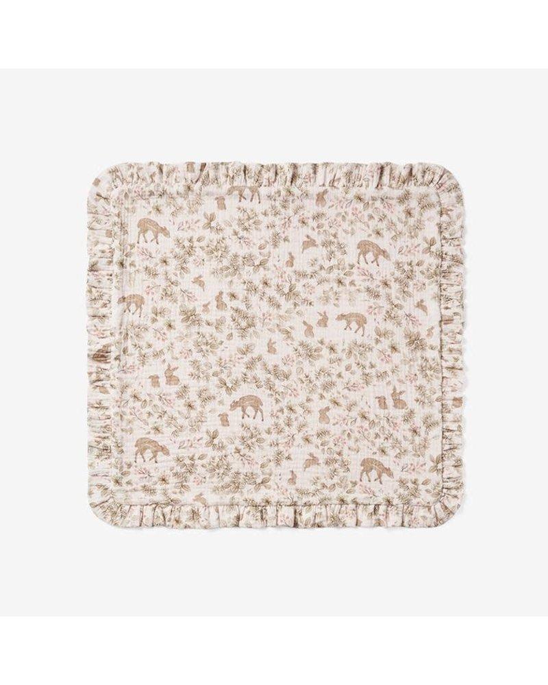Elegant Baby Elegant Baby Muslin Security Blanket - Woodland Print