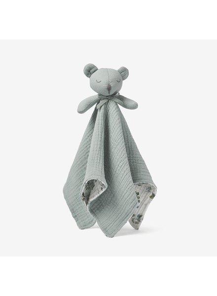 Elegant Baby Light Sage Bear Security Blanket