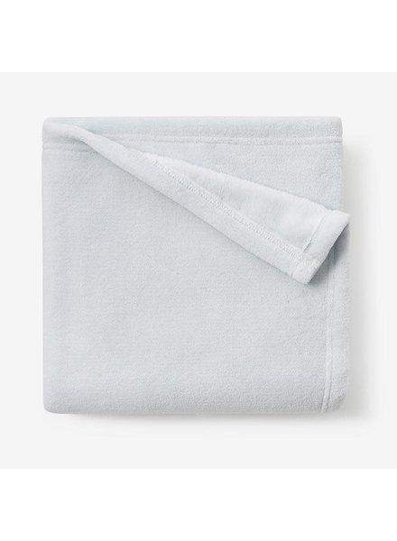 Elegant Baby Pale Blue Simple Fleece Blanket
