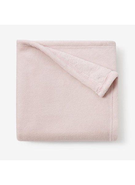 Elegant Baby Chalk Pink Simple Fleece Blanket