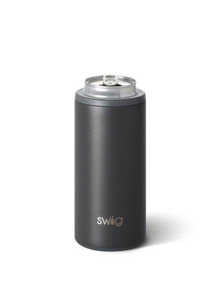 Swig Matte Grey Skinny Can Cooler