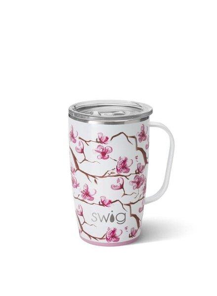Swig Cherry Blossom 18 oz Mug
