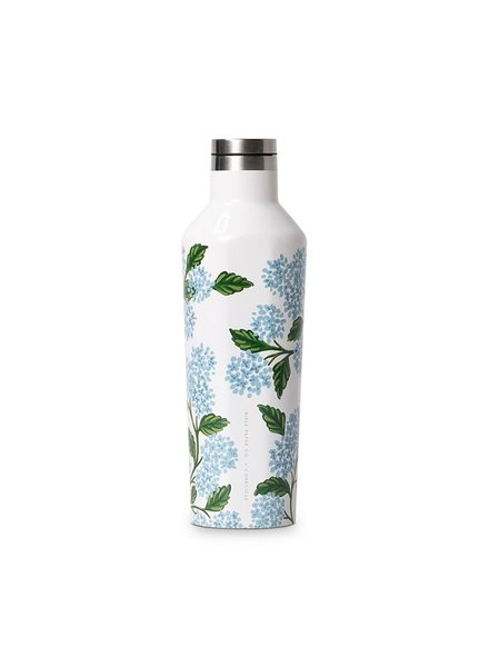 CORKCICLE Rifle Paper Co. Hydrangea Canteen