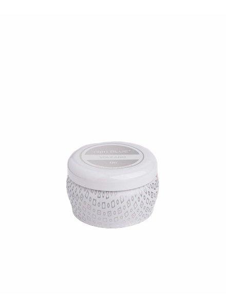 Capri Blue Volcano White Mini Tin Candle