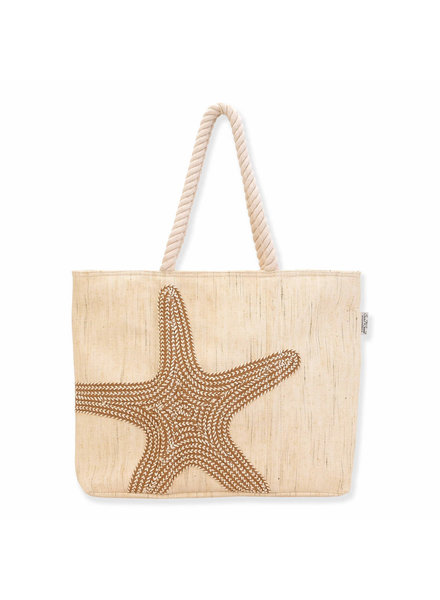 Sun & Sand Starfish Rope Tote
