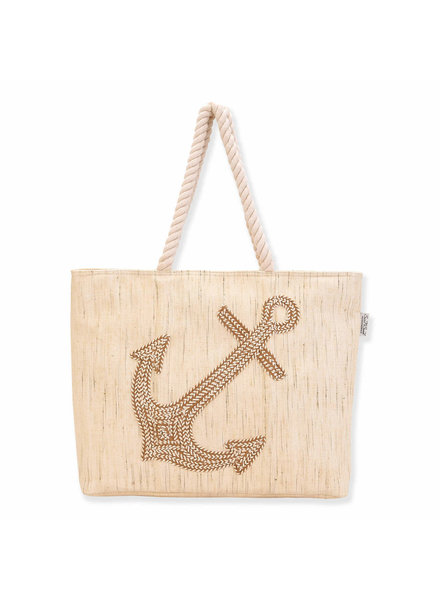 Sun & Sand Anchor Rope Tote