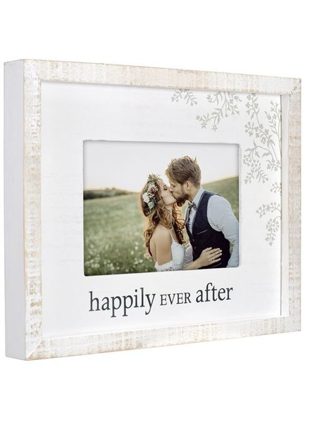 Malden Happily Ever After Rustic Picture Frame