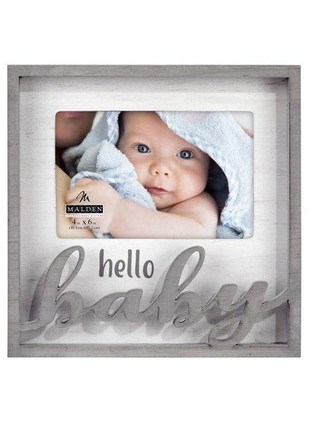 Malden Hello Baby Picture Frame