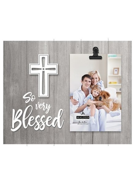 Malden So Very Blessed Cross Picture Frame