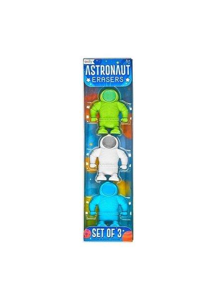 Ooly Astronaut Eraser Set