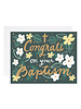 9th Letter Press Greeting Card - Baptism Congrats
