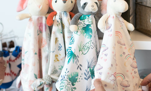 Baby blankets & lovies