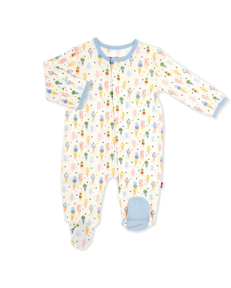 Magnetic Me Magnetic Me Modal Footie - Ice Cream Baby