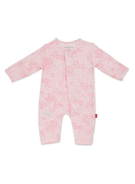 Magnetic Me Magnetic Me Pink Doeskin Coverall