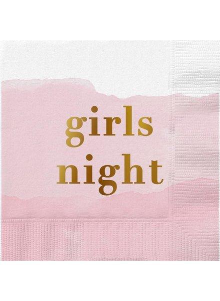 Slant Girls Night Cocktail Napkins
