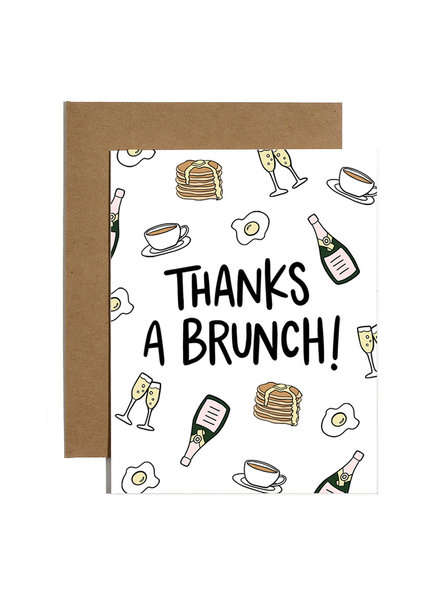 Brittany Paige Greeting Card - Thanks A Brunch