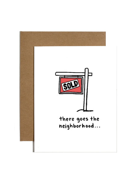 Brittany Paige Greeting Card - There Goes The Neighborhood