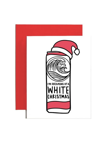 Brittany Paige Greeting Card - White Claws Christmas