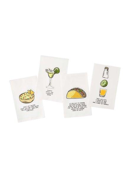 Mudpie Taco / Guac / Margarita Towels