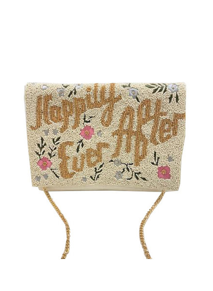 LC Designs Happily Ever After Beaded Clutch