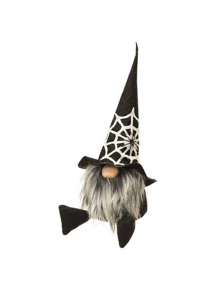 Bright Ideas Halloween Spiderweb Large Gnome