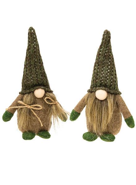Bright Ideas Green & Brown Fall Gnomes