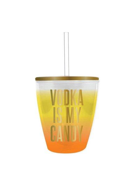 Slant Vodka Is My Candy Halloween Tumbler