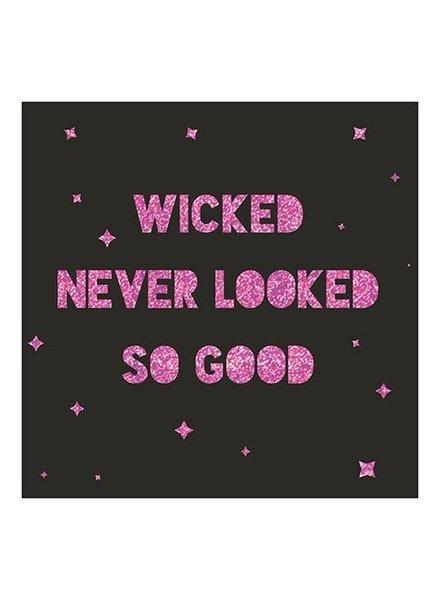 Slant Wicked Never Looked So Good Napkins