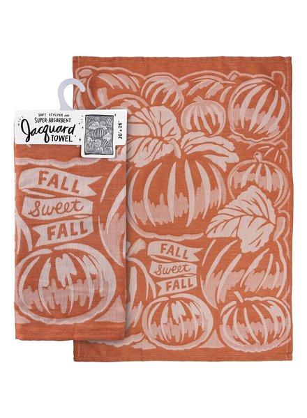 Primitives By Kathy Fall Sweet Fall Jacquard Tea Towel