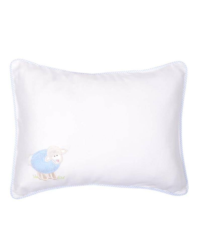 3 Marthas Blue Lamb Baby Pillow