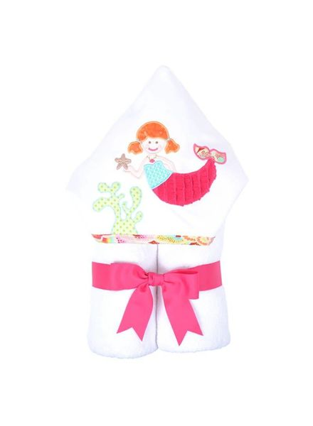 3 Marthas 3 Marthas Hooded Towel - Merry Mermaid