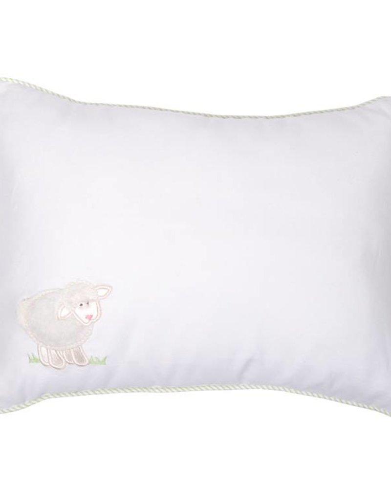 3 Marthas 3 Marthas Baby Lamb Pillow - White