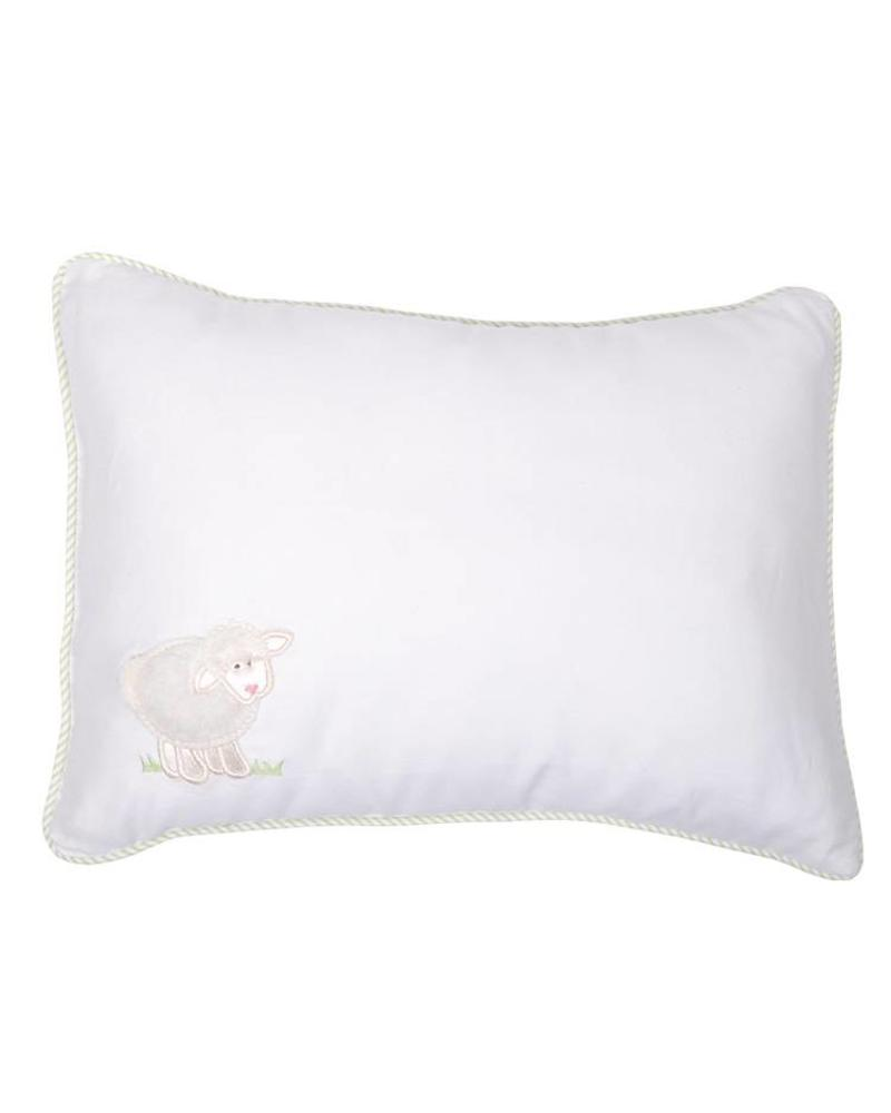3 Marthas 3 Marthas Baby Lamb Pillow - White
