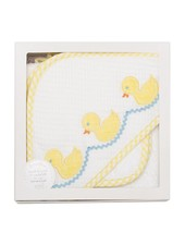 3 Marthas Yellow Duck Hooded Towel