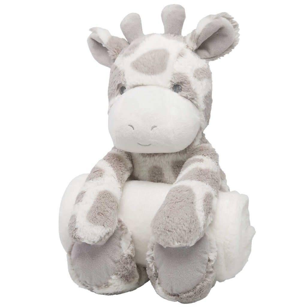 Elegant Baby Bedtime Huggie Giraffe Initial Styles Jupiter