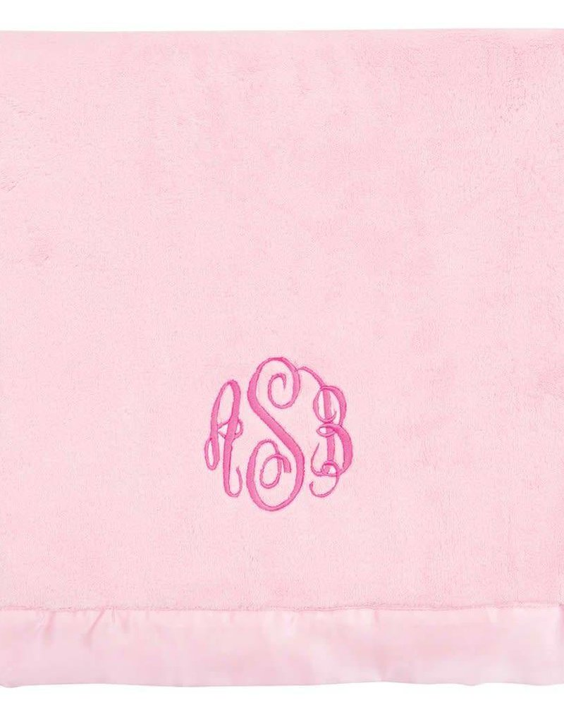 Elegant Baby Elegant Baby - Plush Blanket - Pink
