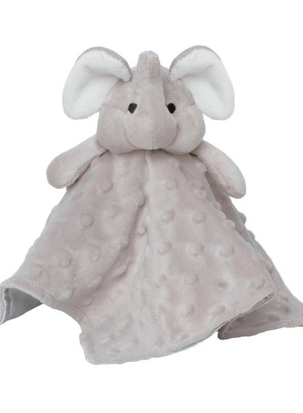 Elegant Baby Gray Elephant Security Blankie