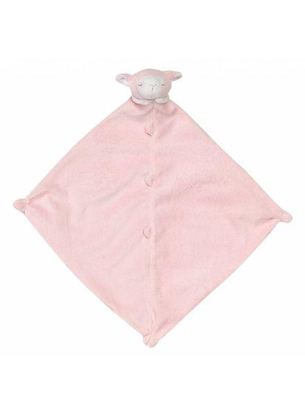 Angel Dear Monogrammed Pink Lamb Lovie
