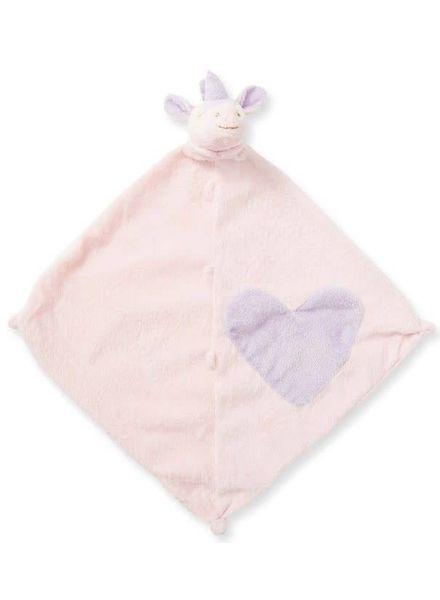 Angel Dear Pink Unicorn Monogrammed Lovie