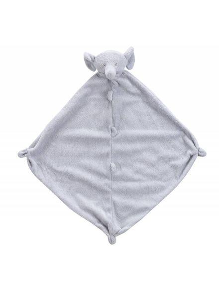 Angel Dear Grey Elephant Monogrammed Lovie