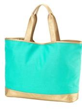 Wholesale Boutique Mint Cabana Tote Bag