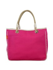 CB Station Solid Hot Pink Rope Tote