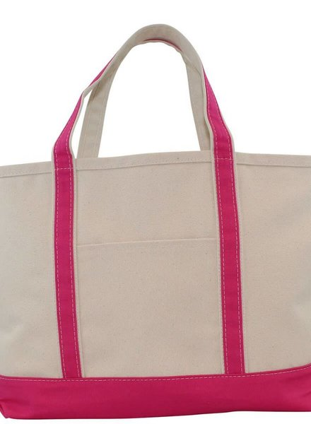 CB Station Hot Pink Large Boat Tote