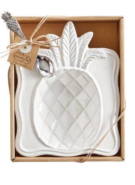 Mudpie Pineapple Candy Dish Set