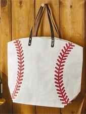 Two's Company Baseball Tote Bag