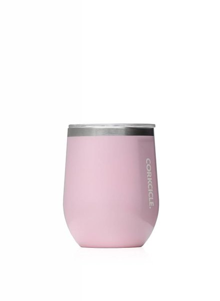 CORKCICLE Rose Quartz Stemless Wine