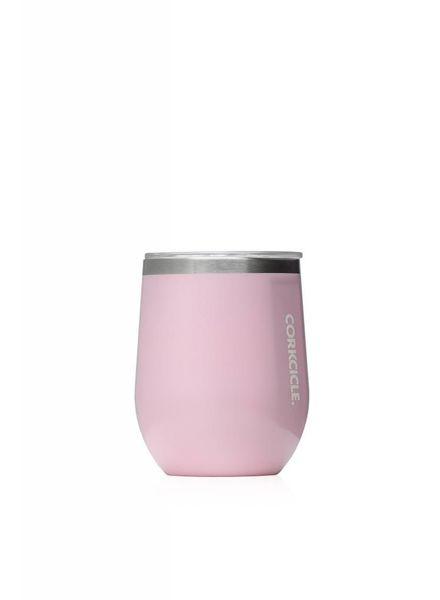 CORKCICLE Rose Quartz Stemless Wine