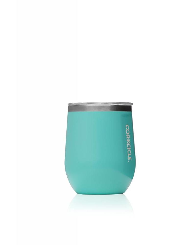 CORKCICLE Gloss Corkcicle Stemless Wine - Turquoise
