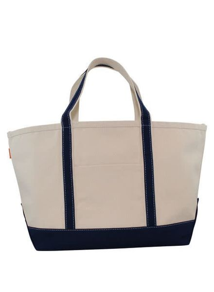 CB Station Navy Large Boat Tote
