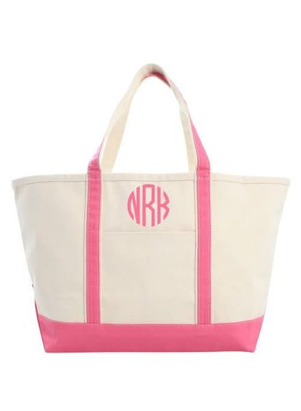 CB Station Coral Large Boat Tote